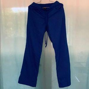 Grey's Anatomy Scrub Pants Royal Blue XS